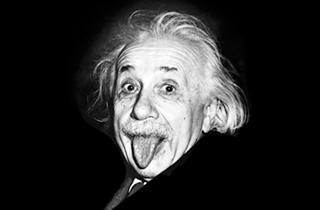 Albert Einstein inspiruje Marketing Mind